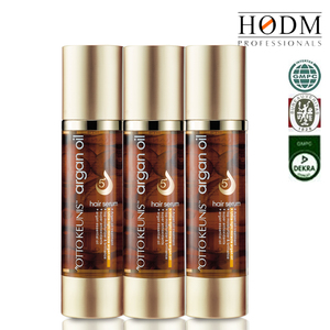 One Application Hair Solutions Essential Oil Softening Argan Oil Hair Serum - Leaves hair soft, shiny, and easy to handle