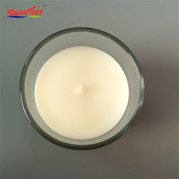 Soy Oil Wax Designer Home Decor Rose Scented Glass Jar Candle