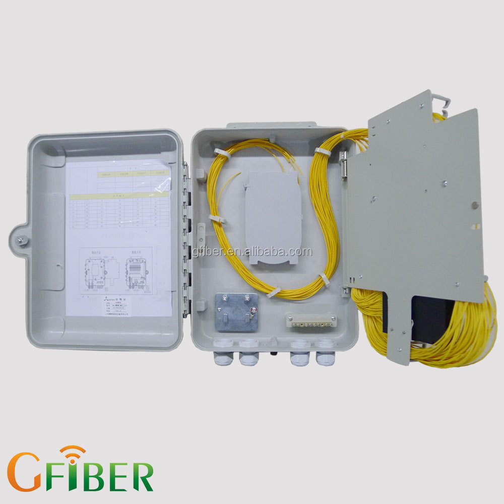 FTTH outdoor 24 core IP 66 fiber optic terminal box