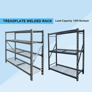 Adjustable wire rack shelves/stainless steel wire mesh shelves/ treadplate welded rack