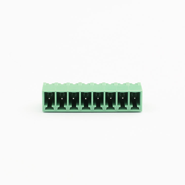 Factory price free sample 5.00mm terminal block 8 pin connector