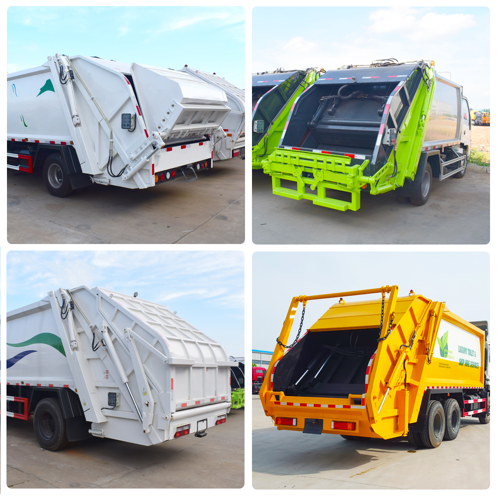 Hydraulic System for Mini Garbage Truck Height