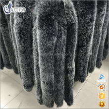 ALICEFUR Wholesale price High Quality good style fox fur hood trim for sale
