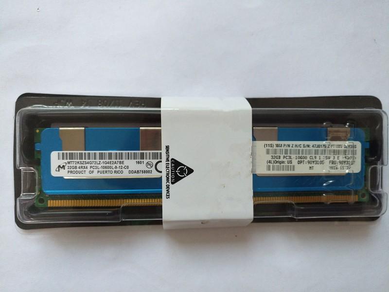 PC3-12800 CL11 ECC DDR3 1600 MHz VLP 1x 16 GB, 2Rx4, 1.5 V IBM 90Y3157 16 GB