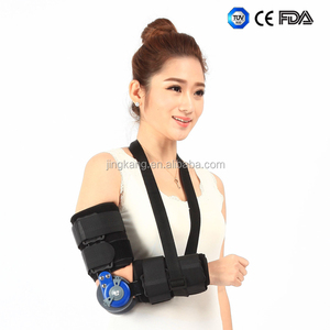 hinged elbow brace ROM surgical elbow fracture immobilizer / orthopedic elbow support