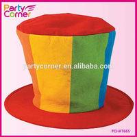 Oversized Clown Top Hat