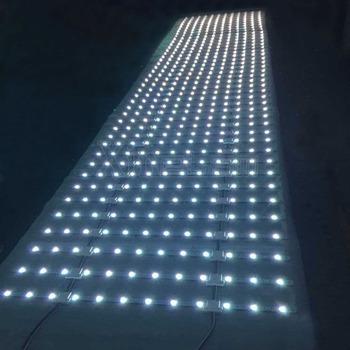 Backlit Sign Box Smd5050 Mesh Strip Rgb Led Curtain Lights