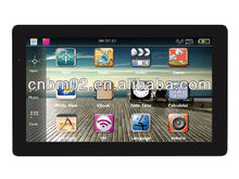 2013 New 7 inch portable gps navigation HD, Bluetooth,AVIN, Picture/Flash/Video/E-book/Music from Alibaba China