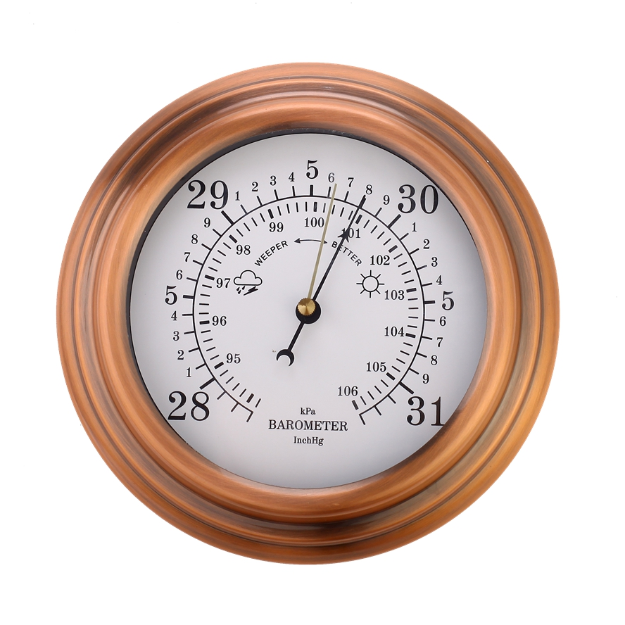 Garden Outdoor Thermometer Hygrometer Barometer 150mm 6 Inch Home And Products Ltd Christmas Ornament
