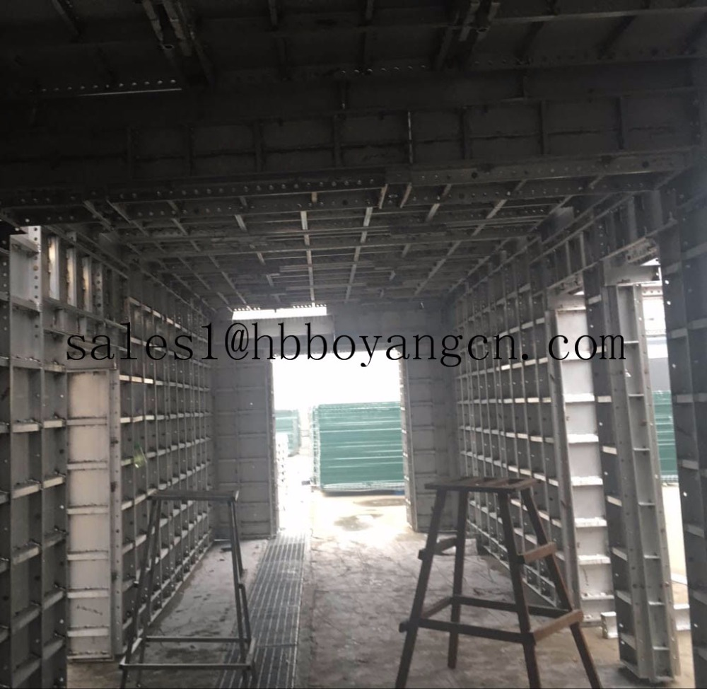 Formwork clamps Aluminium Concrete Wall Forming system for building