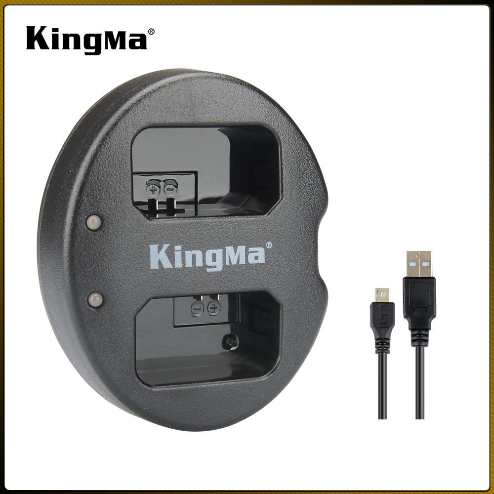Bộ sạc USB kép KingMa FW50 BM015-FW50 cho Con trai.  NP-FW50