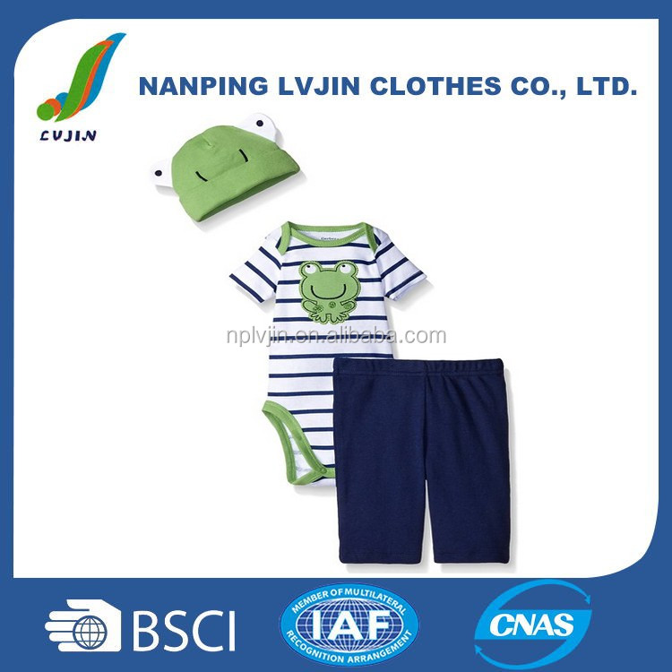 Infant & Toddlers 100% Cotton Baby Clothing set
