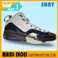 Wholesale high quality basketball sneakers sport shoes for men made in China in very low price