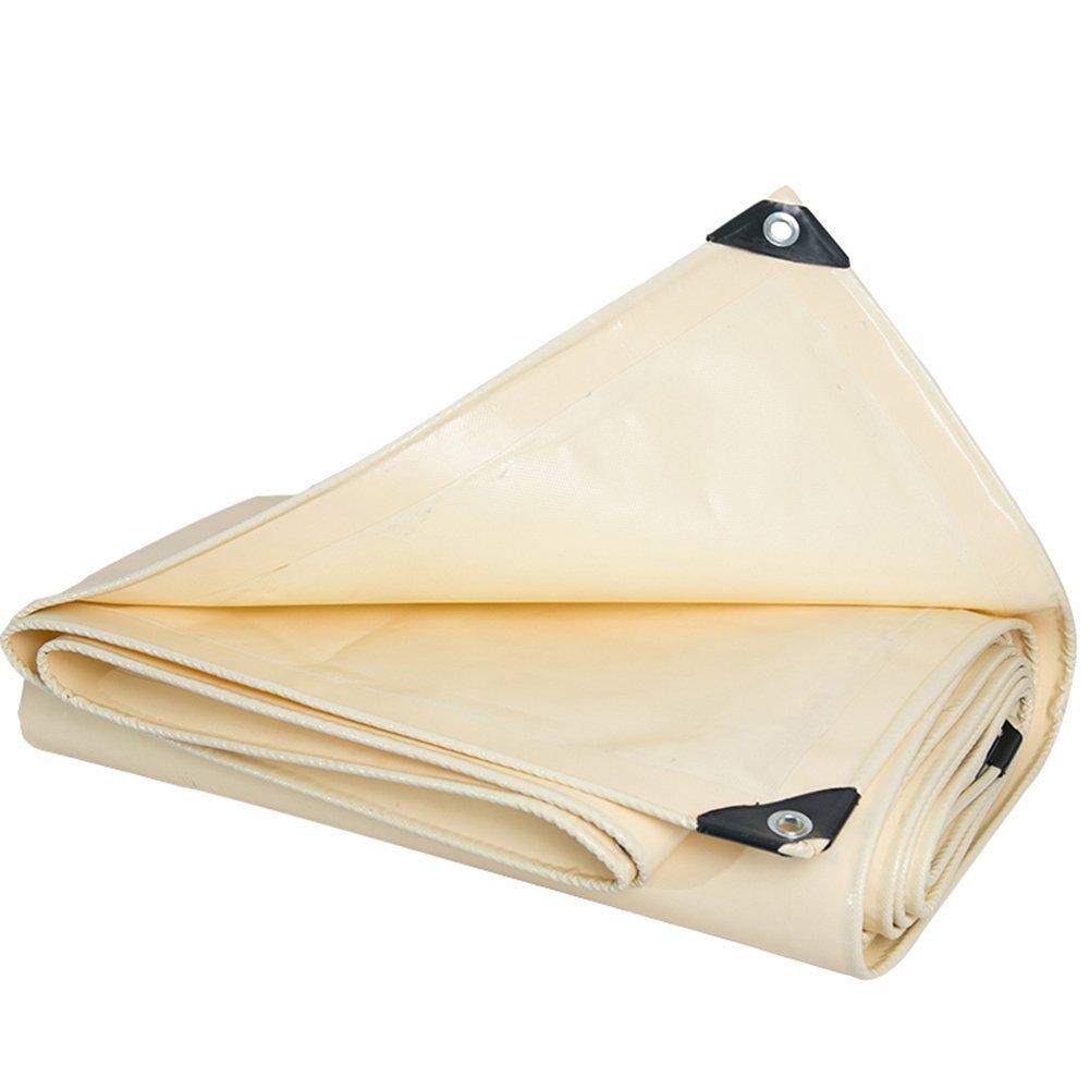 LQQGXL Outdoor thick tarpaulin, rainproof sunscreen tarpaulin, double-sided waterproof sunscreen insulation weathering Waterproof tarpaulin