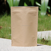 high quality brown kraft paper tea/coffee bags with hemp rope