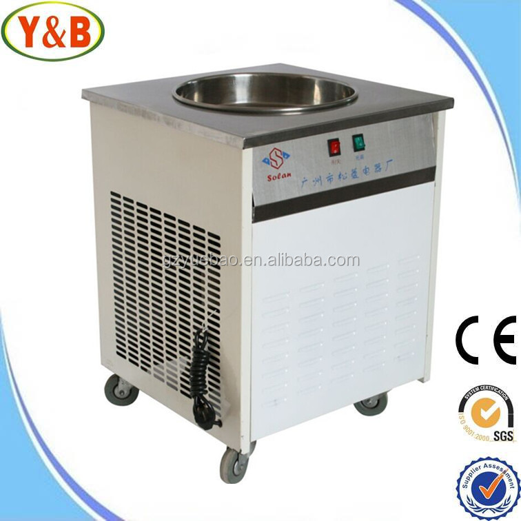 OEM fried ice cream roll machine