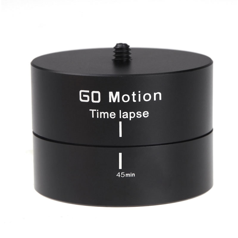 "Aluminum Alloy 1/4"" 360 Degrees Mini Panning Rotating Time Lapse"