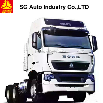 2928a0d297 china 2018 Sinotruk Howo MAN T7H 6 4 tractor truck High top tractor head for