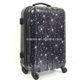 bright color stars print ABS/PC yellow luggage set beautiful color for multi usage