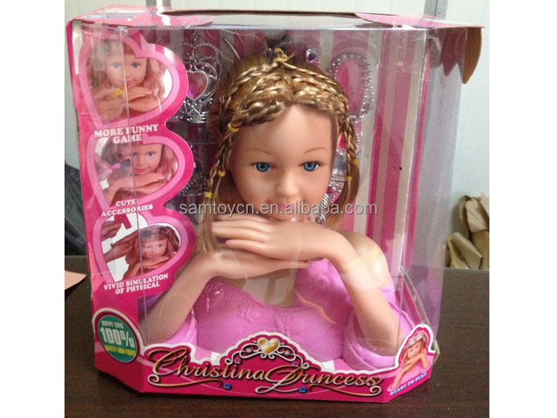 Doll Head Hair Styling: Makeup \u0026 Hairstyling In Action Figures And Character