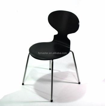 En Gros Contreplaque Meubles De Salon Hotel Arne Jacobsen Sans Bras Chaise Fourmi