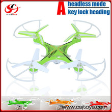 Headless mode One Key lock heading 2.4G 4CH 6Axis RC Quadrocopter Locked direction 4 rotor helicopter with HD Camera