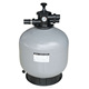 V series Top-mount swimming pool industrial frp sand filter for water treatment