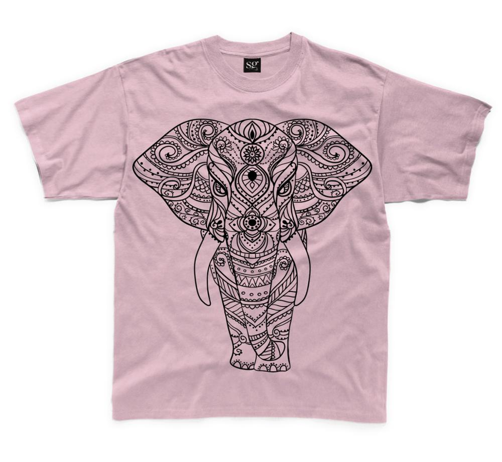 T shirt design quick delivery - 2017 Cheap Quick Delivery Short Sleeves Elephant Design Kid S Custom Logo Children Printed T Shirt