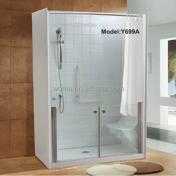 Y699a High Quality Foshan Factory Lowes Walk In Bathtub With Shower Tub Combo