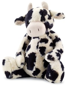plush toy cow Black & White Stuffed Animal plush cow