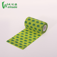 Aavailable colored veterinary cohesive elastic self adhesive bandage latex free