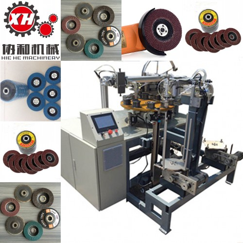 Automatic Flap Disc Making Machine Manufacturer T29 or T27