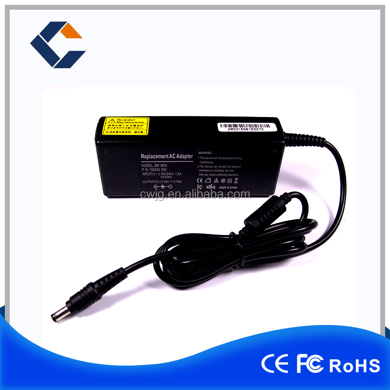 For Samsung 60w laptop power adapter 19v 3.16a