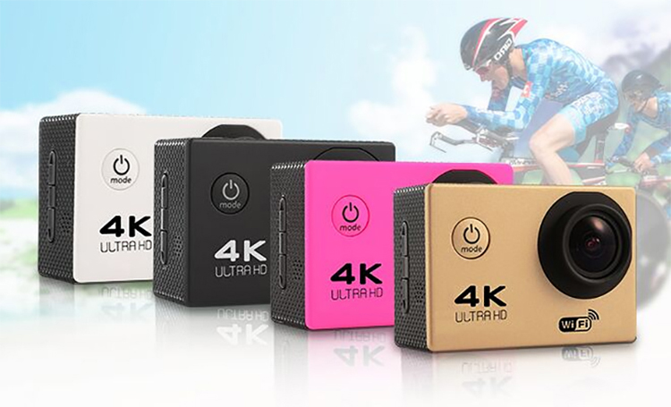 4k action camera mini sport camera underwater 30M waterproof Ultra HD and170 HD wide-angle lens
