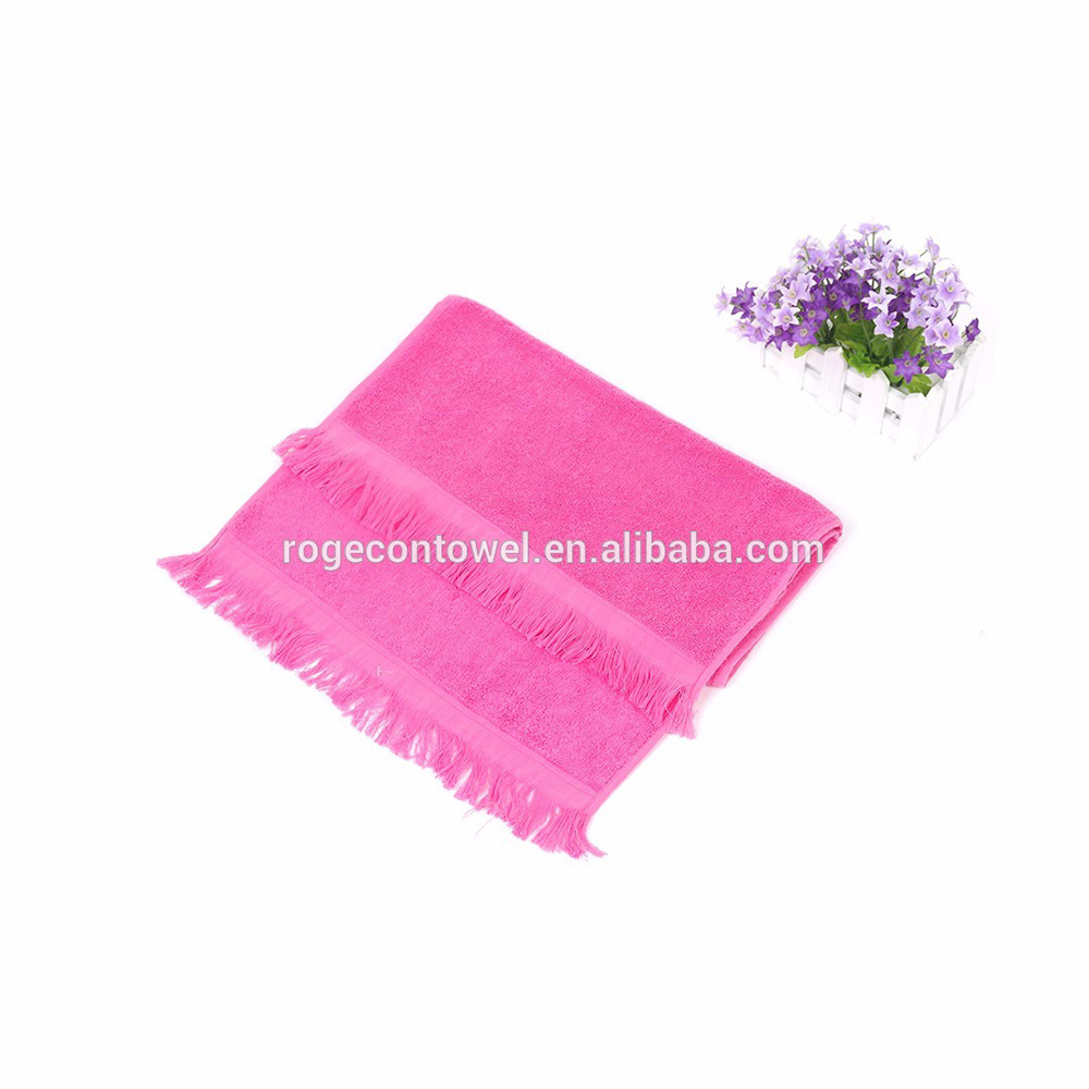cotton towels manufacturers Colourful cheap 100% cotton towels New Design cotton towels stock free sample