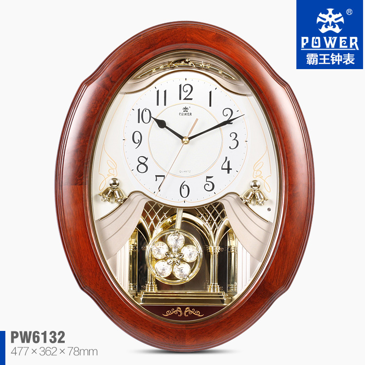 Pendulum Wall ClockWall Gear ClockWooden Pendulum Wall Clocks