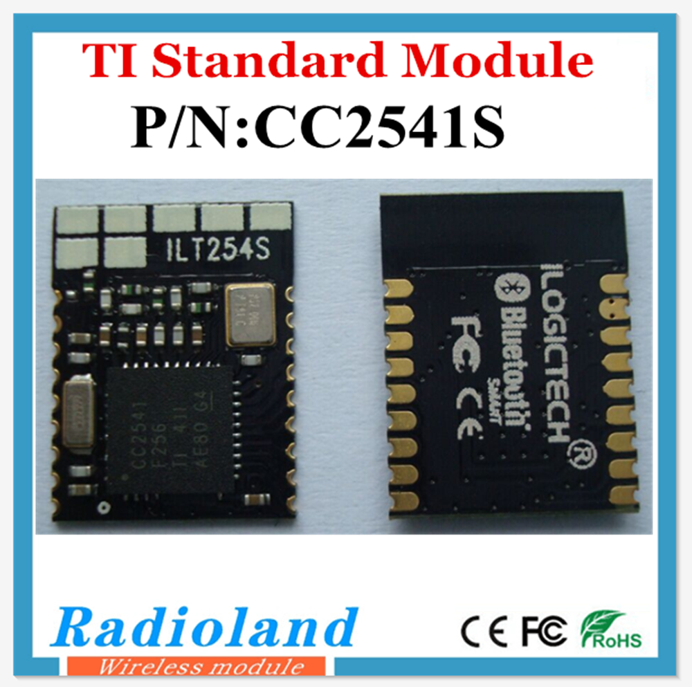 fcc rf module TI chip CC2541-S1 with small size and long distance