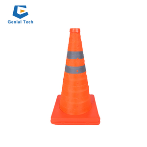 SC-CC-RT03 collapsible safety cone led light traffic cone