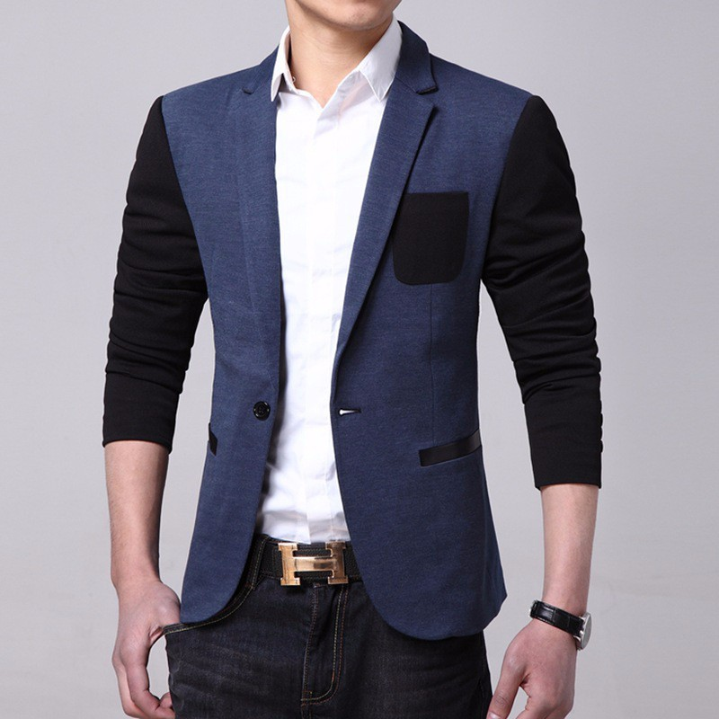 Wt036 Slim Fit Blazer Jacket Office Uniform Design ...