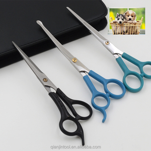 Japanese Professional Pet Scissors pet trimming plastic handle