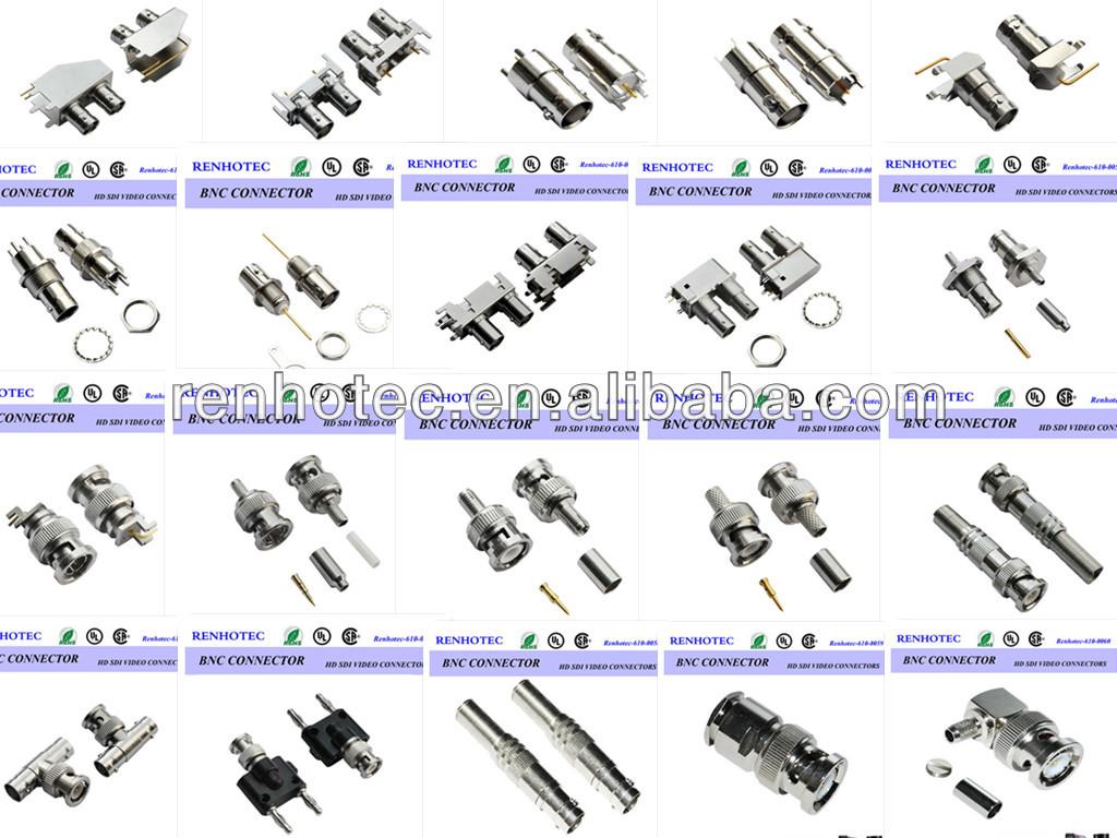 Rg6u Connector Bnc Jack Syv 75 5 Coaxial Cable Buy Rg58 Schematics