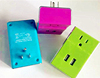 Factory Dual USB Port US Wall Charger with 5V/2.1A Output UL Certification