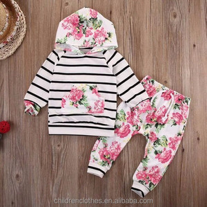 Bulk wholesale kids clothing outfit 2 pieces yellow long sleeve lace top and shorts baby clothes