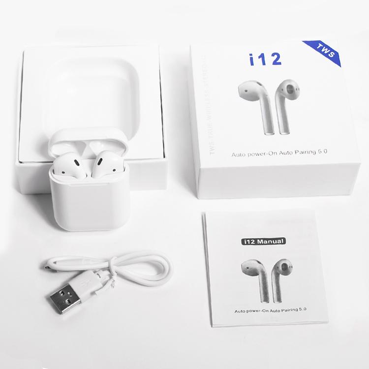 I12 TWS Hot Earphone Hands Free touch Control i12 earbuds TWS wireless headphones фото