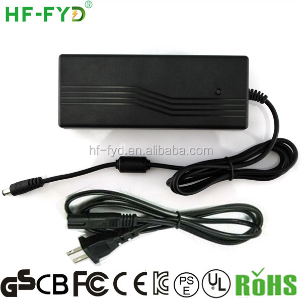 HF-FYD FY2405000 24v 5a ac/dc power adapter with PSE certification for Japan ac plug