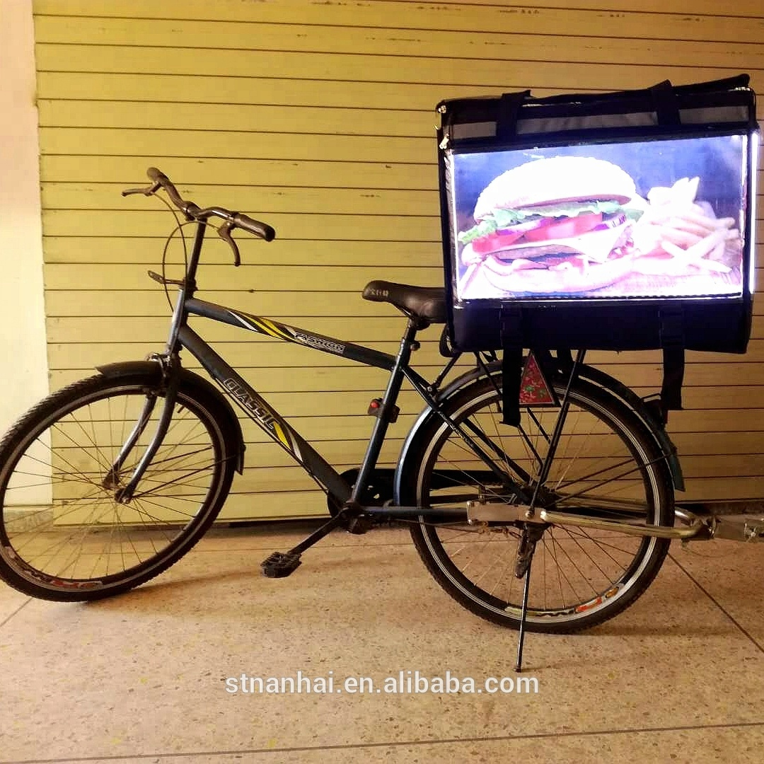 STNANHAI J10 - D0 new idea outdoor waterproof led food <strong>delivery</strong> box for scooters