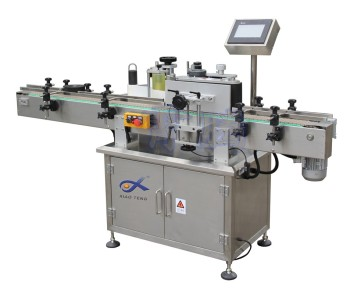 XT-2510 Automatic manual Plastic Bottle Labeling Machine made in China