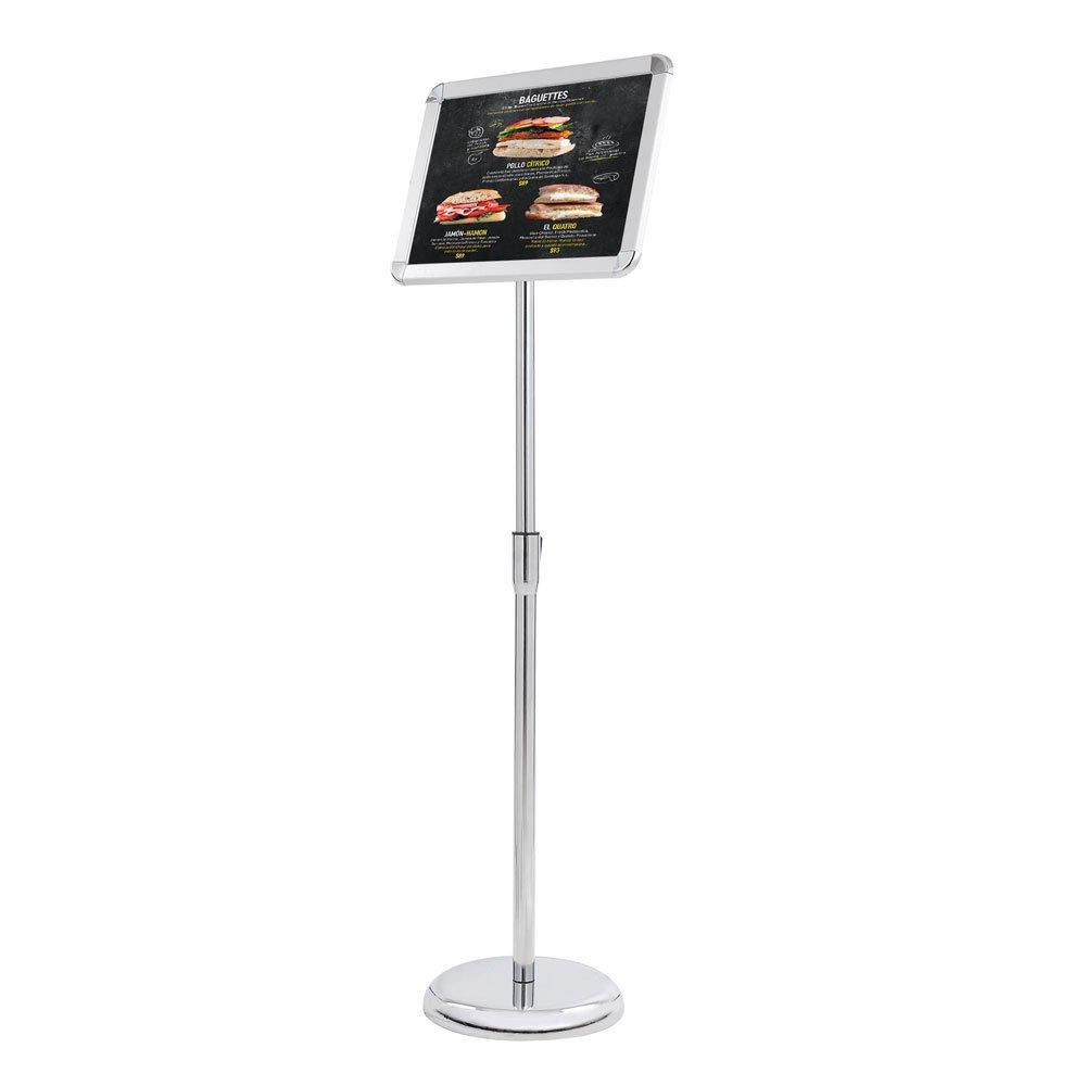 Pedestal Stand Floor Sign Display Holder 8.5 x11