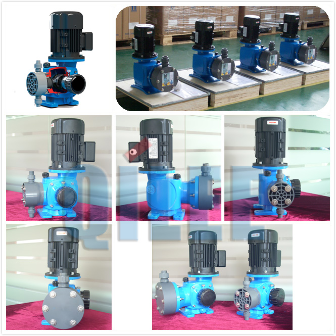 Auto dosing adjustable acid metering pump of sludge dewatering