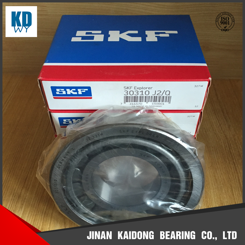 SKF tapered roller bearing 30310 J2/Q bearing size 50*110*29.25mm